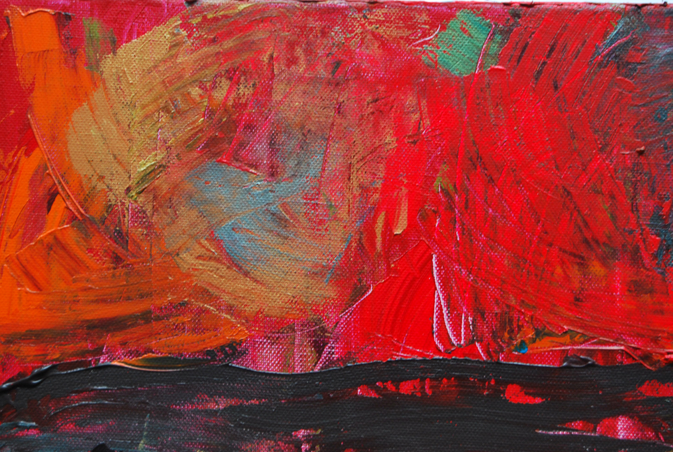 New abstract painting: (Emotional) Tempest – alexia medici