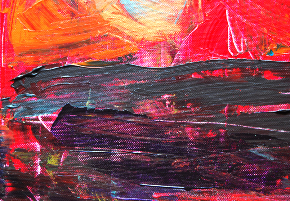 New abstract painting: (Emotional) Tempest | alexia medici