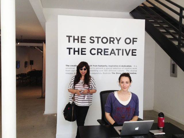 "Exhibition: ""The Story of the Creative"" in New York"