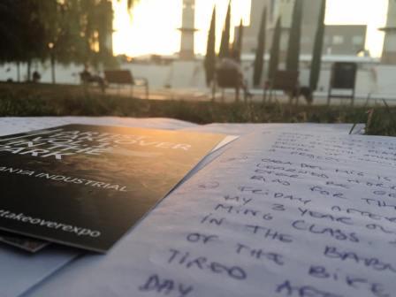"""Natalia Toro García """"Memorias de un Parque"""", Artist Takeover in the Parc de l'Espanya Industrial"""